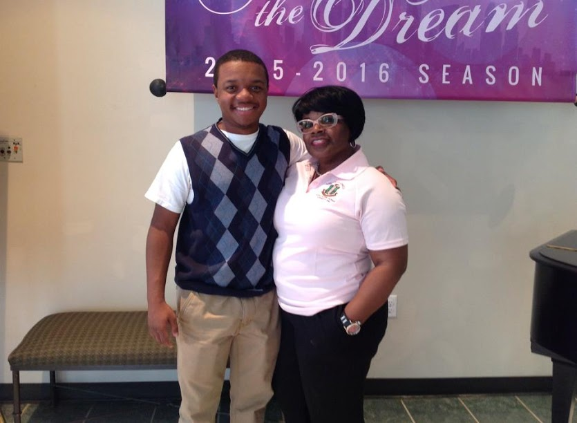 TZO member Nyna and her son, ASCEND student Brenson